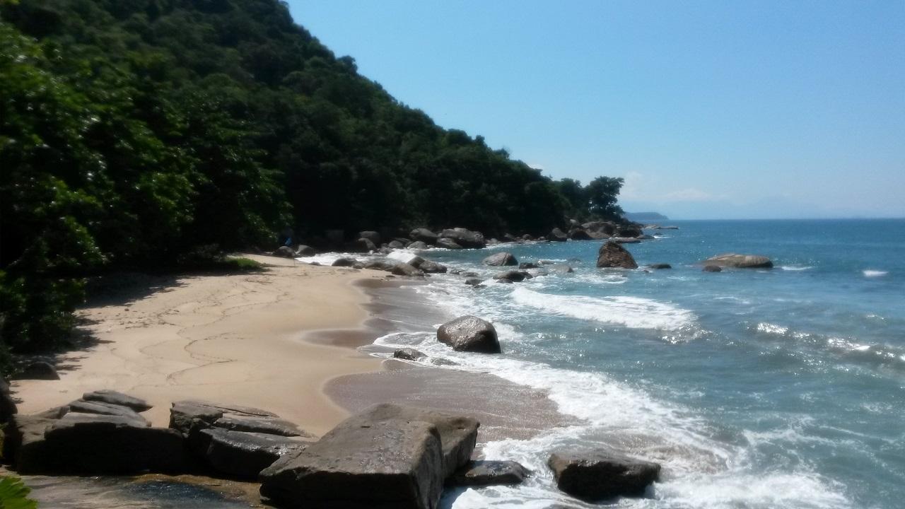 Praia do Tapiá - Trilha da Ponta da Espia