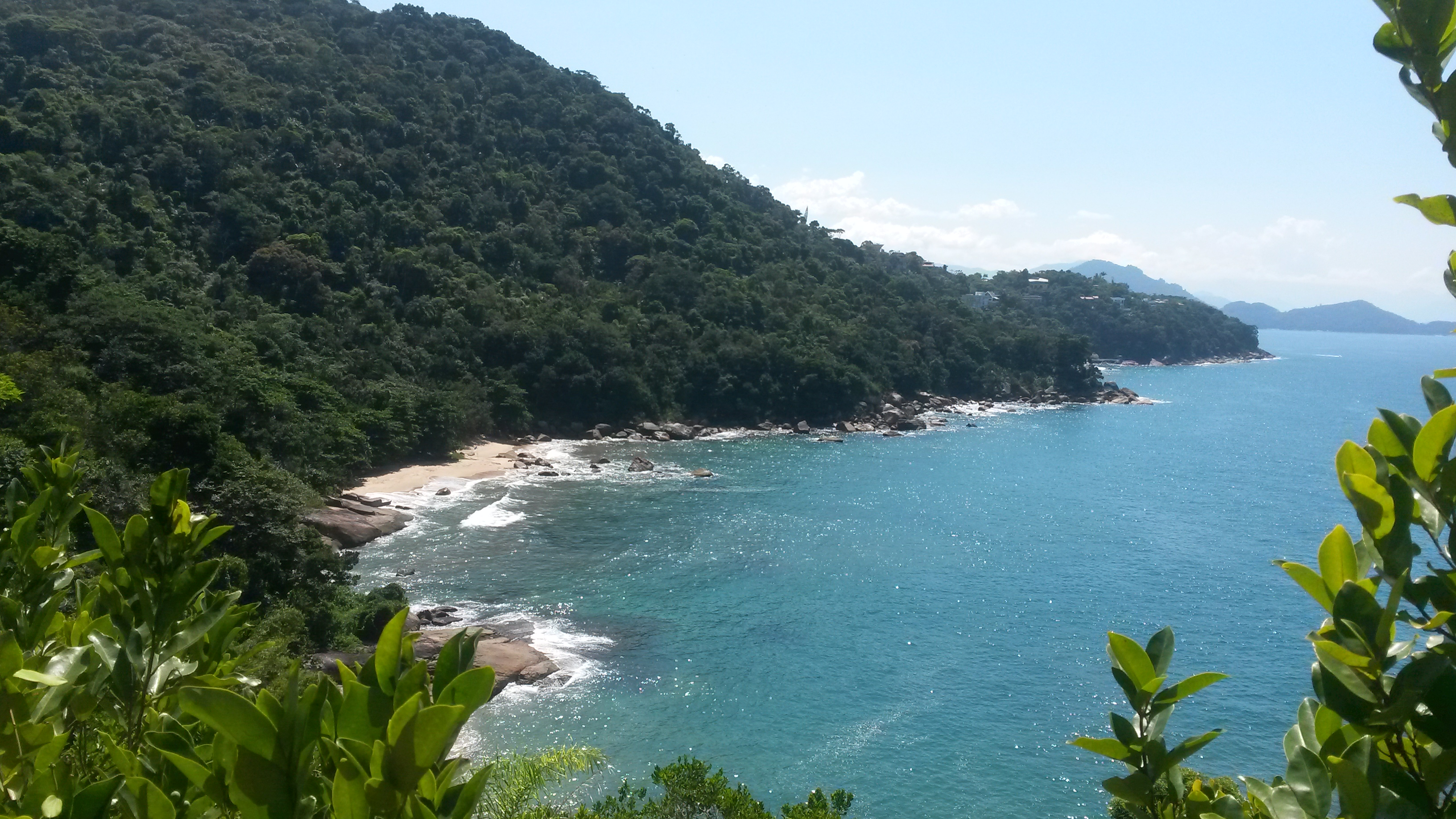 Praia do Tapiá - Chegada
