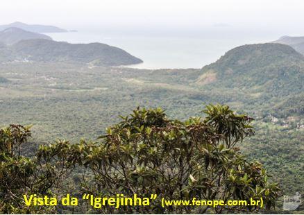 Pico do Corcovado - Vista da Igrejinha