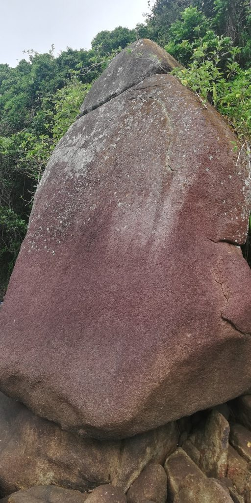 Pedra do Monge - Praia das Conchas