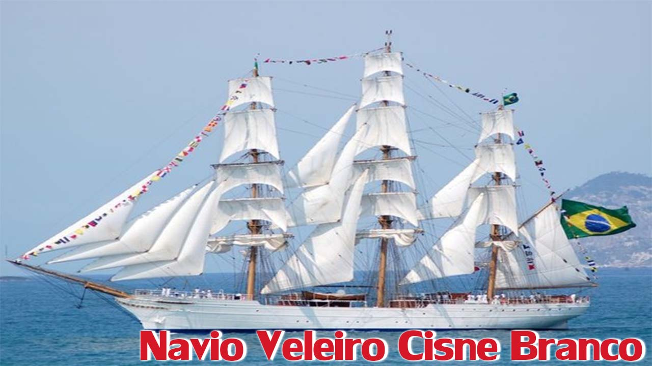 Navio Veleiro Cisne Branco
