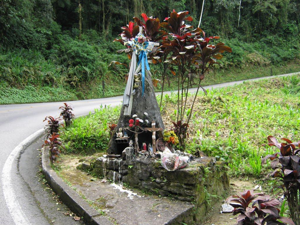 Cruz de Ferro na Serra de Ubatuba