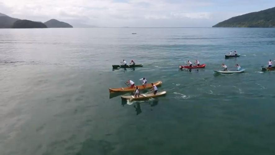Corrida de Canoas na Festa de São Pedro @fundartubatuba