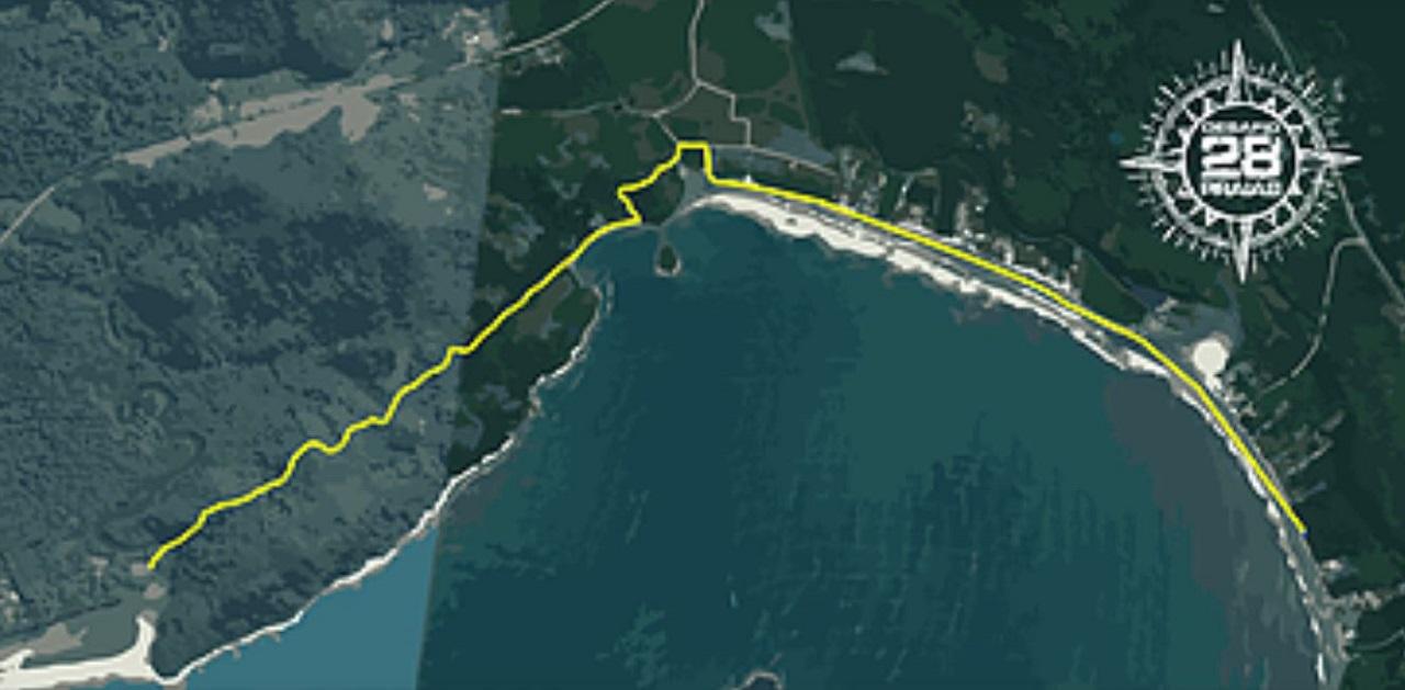 Trecho 1 - Desafio 28 Praias
