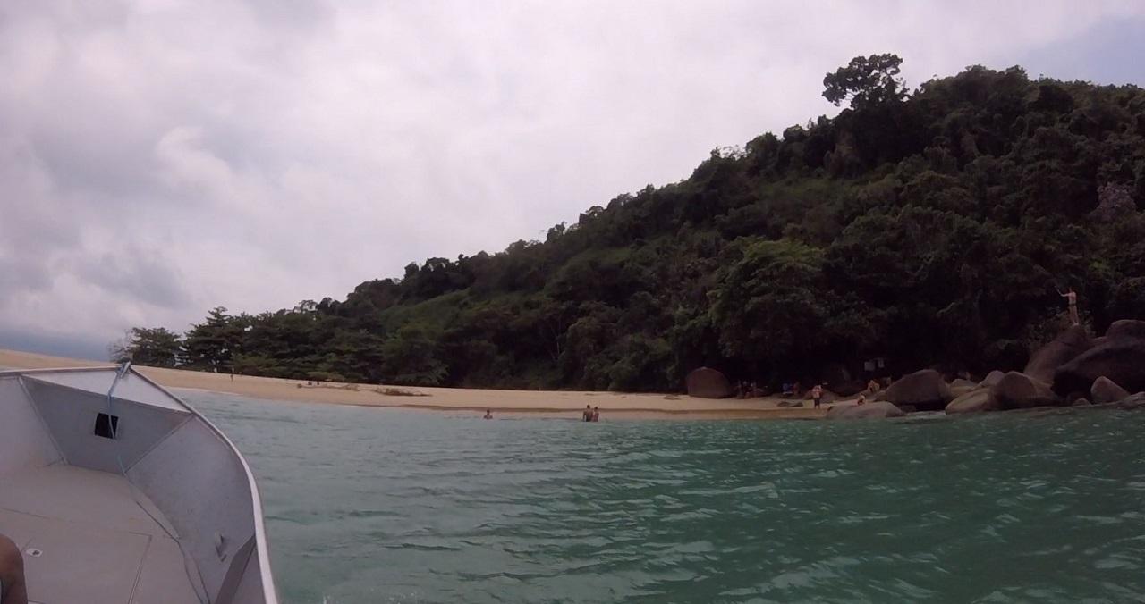 Praia da Ilha do Prumirim