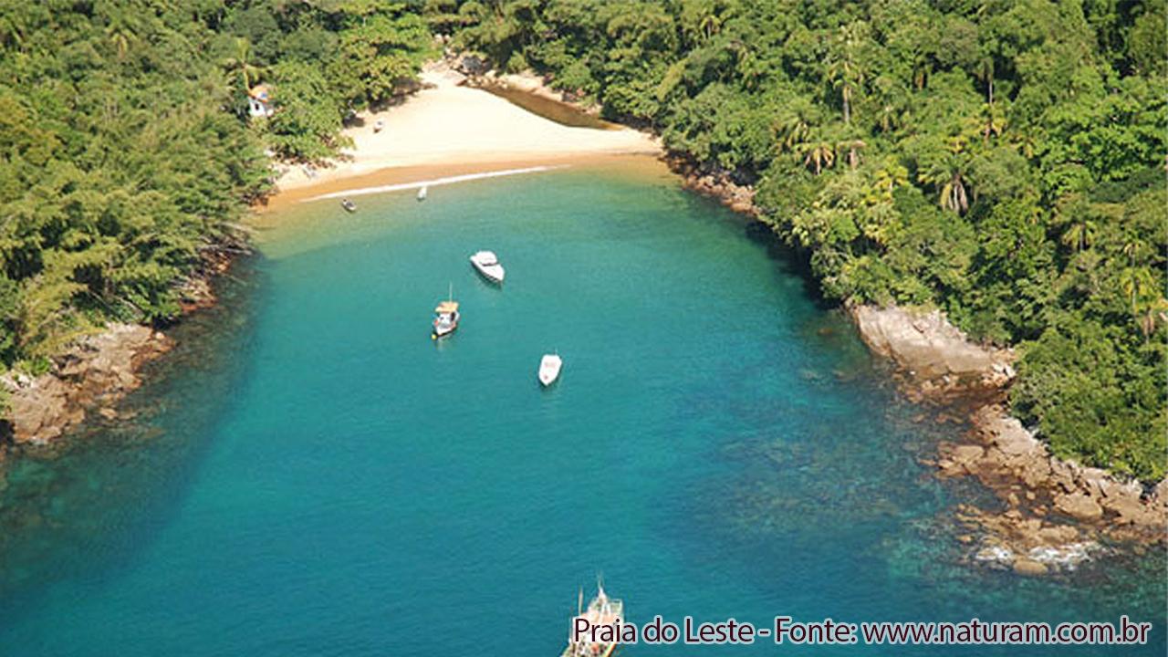 Praia do Leste Ilha Anchieta