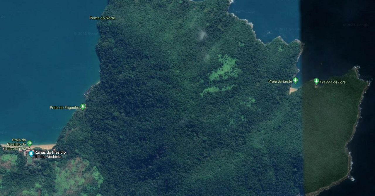 Prainha de Fora - Ilha Anchieta